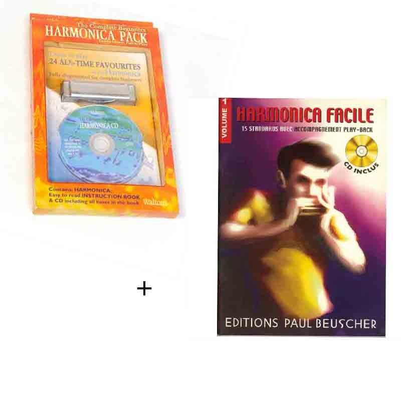 Pack harmonica + mlivret + DVD + partitions