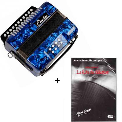 Pack accordéon diatonique et méthode d'apprentissage