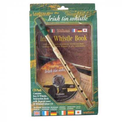 Pack flute Whistle + livret + CD