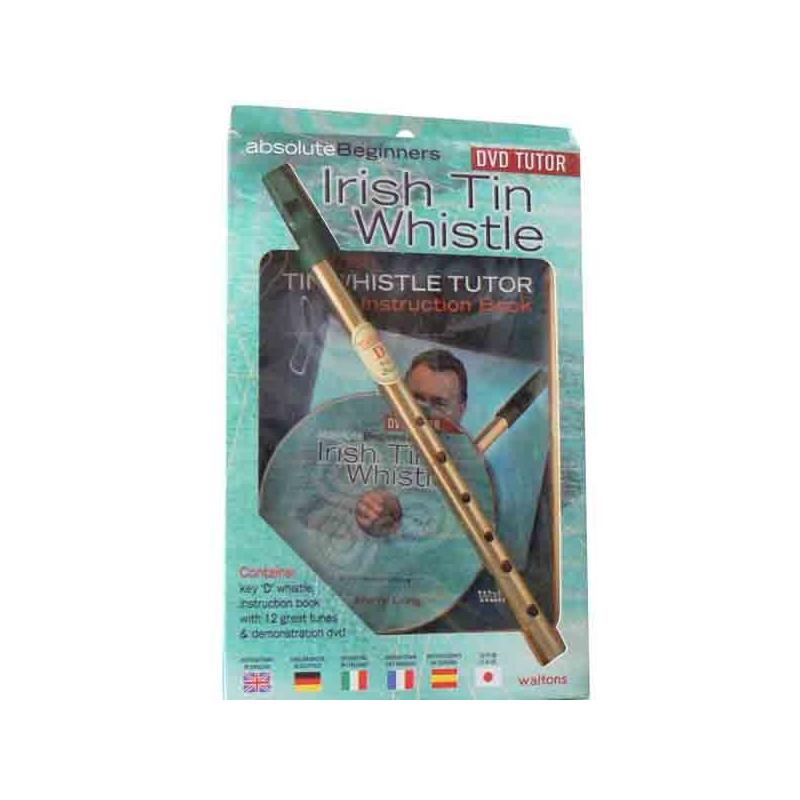 Pack flute Whistle + livret + DVD