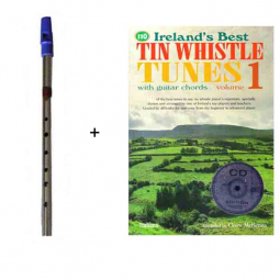 Pack flute whistle + partitions avec CD