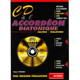 CD à l'accordéon diatonique - Paul BEUSCHER