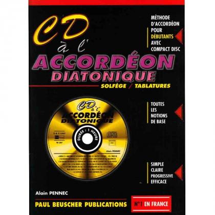 CD à l'accordéon diatonique - Paul BEUSCHER