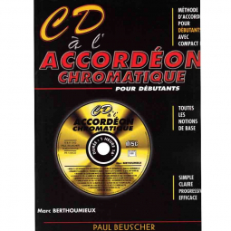 CD à l'accordéon chromatique - Paul BEUSCHER