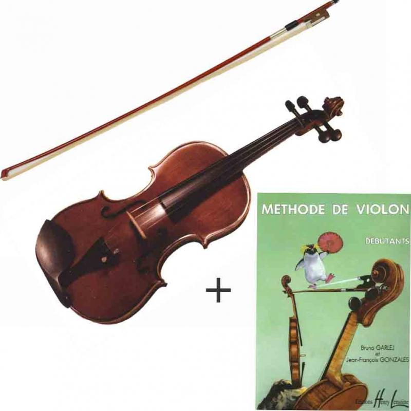Pack violon + méthode