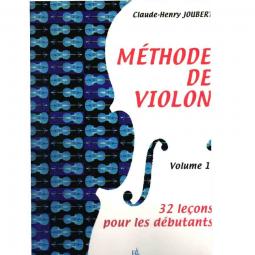 Méthode de violon - 32 leçons- vol 1