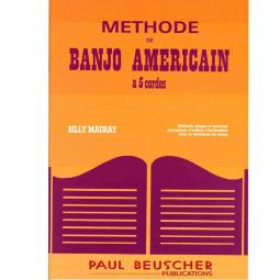 Méthode de banjo américain à 5 cordes