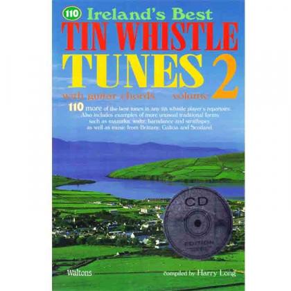 110 Ireland's Best Tin Whistle Tunes n° 2 + CD