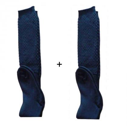 Lot de 2 paires de chaussettes laine Mac Callum noires