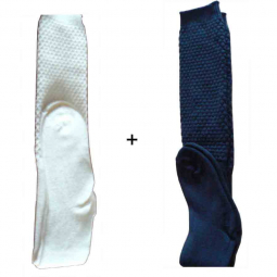 Lot de 2 paires de chaussettes laine Mac Callum assorties