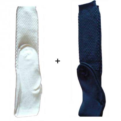 Lot de 2 paires de chaussettes laine Mac Callum assorties