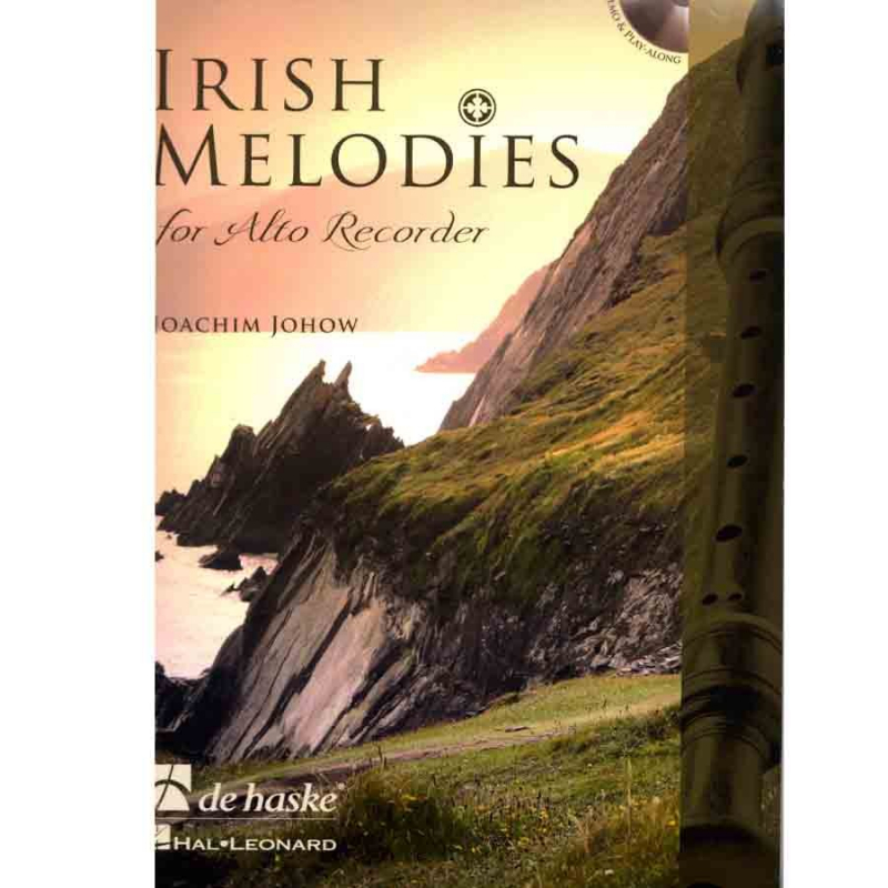 Irish Melodies for Alto avec CD