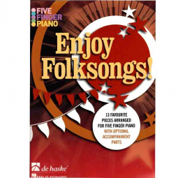 Partitions faciles pour piano Enjoy Folksongs
