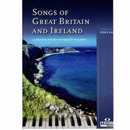 Partitions pour piano Songs of Great Britain and Ireland