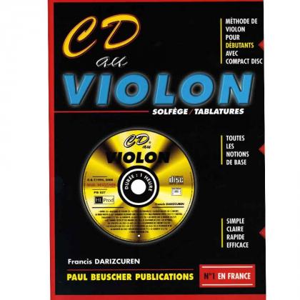 Méthode CD au violon - Paul Beuscher