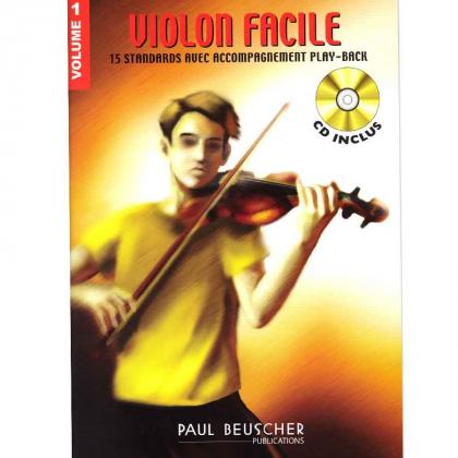 Méthode Violon Facile  - Paul Beuscher