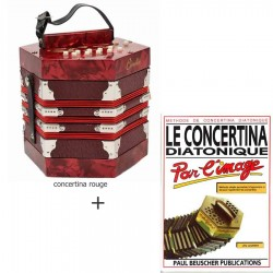 Pack concertina + méthode