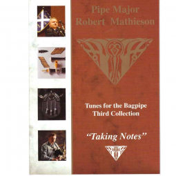 "Pipe Major ""Taking notes"" - Robert Mathieson"