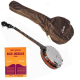 Pack banjo 5 cordes et méthode - housse