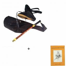 Pack practice set cornemuse irlandaise + méthode Andreas Rogge