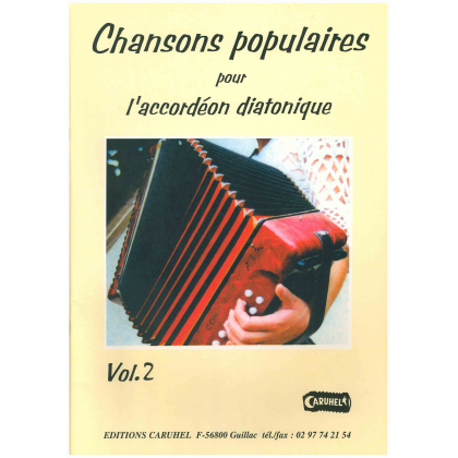 Chansons populaires pour accordéon diatonique - 2
