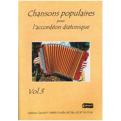 Chansons populaires pour accordéon diatonique - 3