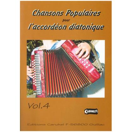 Chansons populaires pour accordéon diatonique - 4