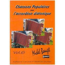 Chansons populaires pour accordéon diatonique - 6