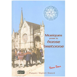 Partititons Musiques pour Danse Bretonne CD - accordéon diato