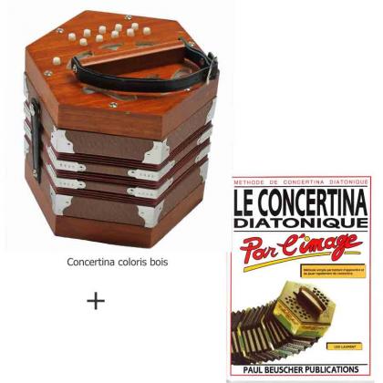 Pack concertina + méthode