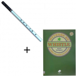 Pack Flute whistle Dixon DX 006 Ré & méthode
