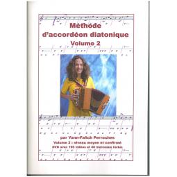 Méthode d'accordéon diatonique avec DVD - volume 2