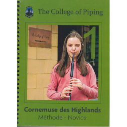 Méthode de cornemuse College of Piping vol1